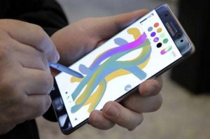 Samsung's new jumbo phone unlocks with iris scanner